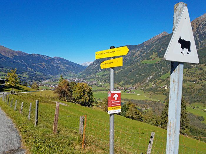 Blick Richtung Bad Hofgastein