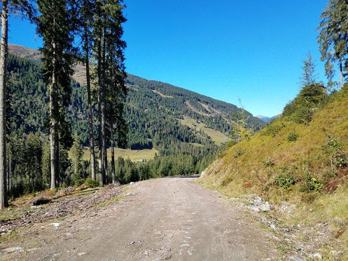 Unsere Route zur Felding Hütte